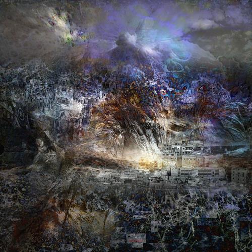 karl dieter schaller, doomsday 1. detail . v1, Diverses, Gegenwartskunst, Abstrakter Expressionismus