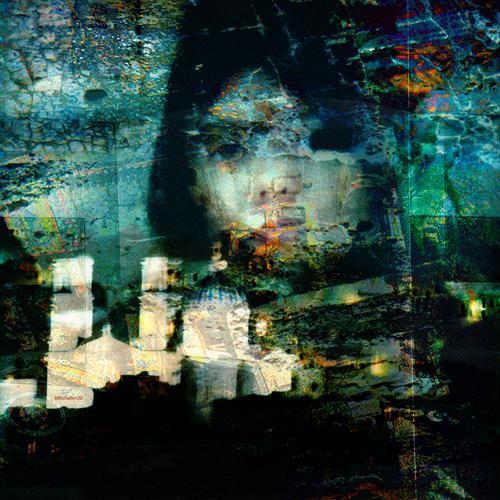 karl dieter schaller, trouvaille 2.detail 1, Diverses, Gegenwartskunst, Abstrakter Expressionismus