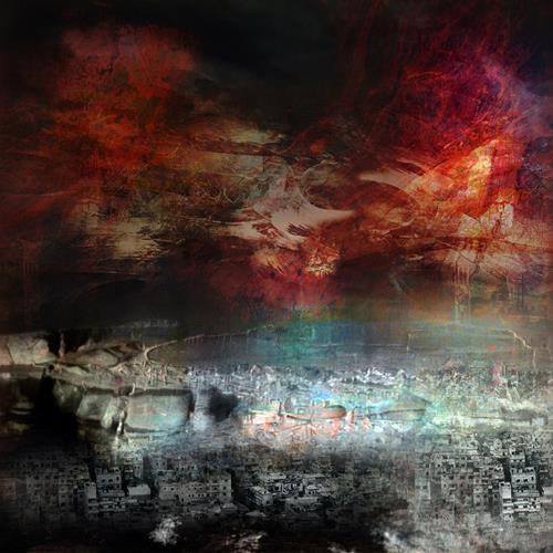 karl dieter schaller, war 1.affres de la guerre., Diverses, Gegenwartskunst, Abstrakter Expressionismus