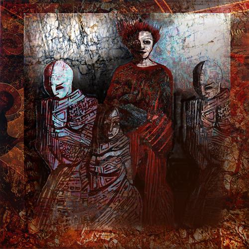 karl dieter schaller, lady macbeth and...., Diverses, Gegenwartskunst, Abstrakter Expressionismus