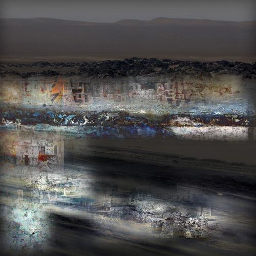karl dieter schaller, ghost-town 1.shadows of the past., Diverses, Gegenwartskunst