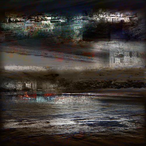 karl dieter schaller, ghost-town. v3., Diverses, Gegenwartskunst, Abstrakter Expressionismus