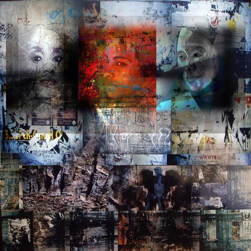 karl dieter schaller, reset. sorry, back on the dark side. v1, Diverses, Gegenwartskunst, Abstrakter Expressionismus
