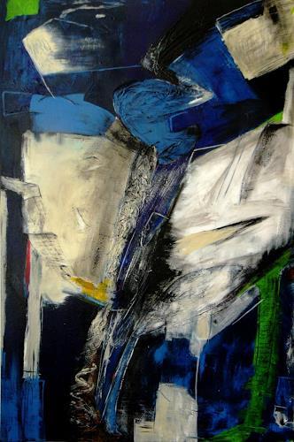 Bibi J, high in the sky, Abstraktes, Gegenwartskunst