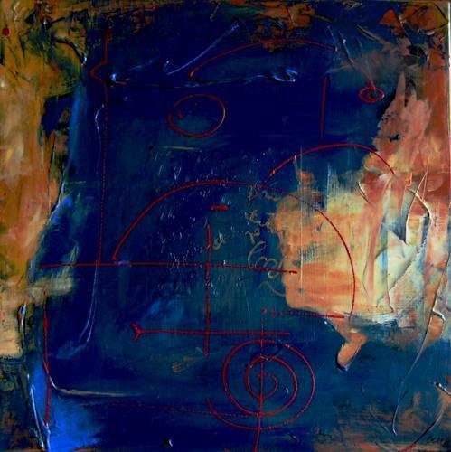 Bibi J, nascas, Abstraktes, Gegenwartskunst, Abstrakter Expressionismus