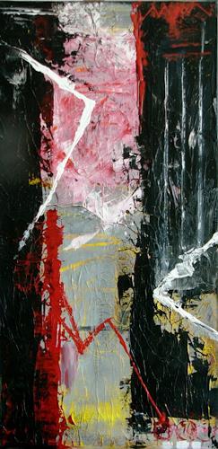 Bibi J, heartbreak, Abstraktes, Gegenwartskunst