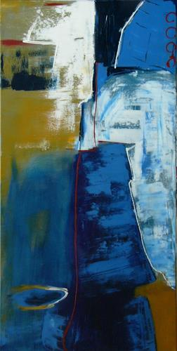 Bibi J, fern der Küste, Abstraktes, Diverses, Gegenwartskunst, Expressionismus