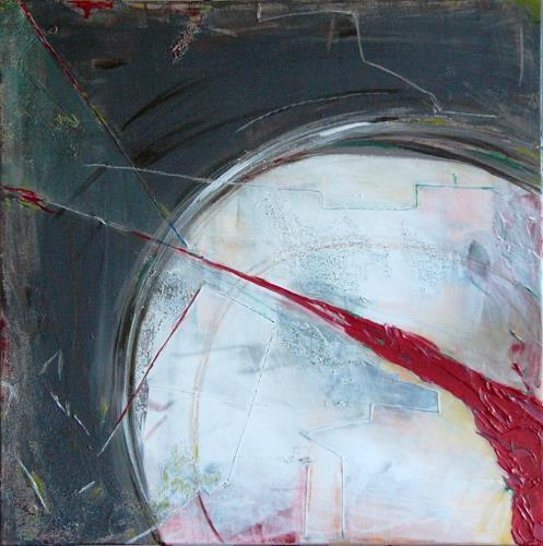 Bibi J, moon city, Abstraktes, Gegenwartskunst
