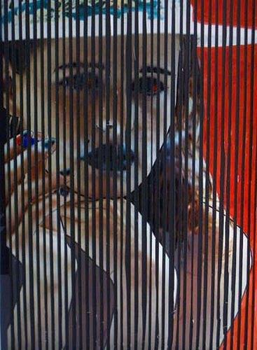 Horst  Brettschneider, Sitting On A Fence, Symbol, Gefühle: Stolz, Moderne, Expressionismus