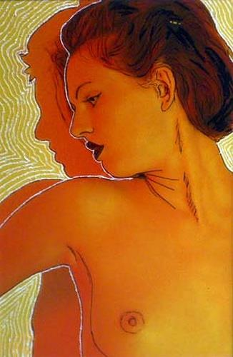 Horst  Brettschneider, Said Day, Akt/Erotik: Akt Frau, Gefühle: Depression, Moderne