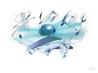 Reiner-Horn-Abstraktes-Natur-Wasser-Gegenwartskunst-Gegenwartskunst
