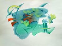 Reiner-Horn-Abstraktes-Fantasie-Gegenwartskunst-Gegenwartskunst