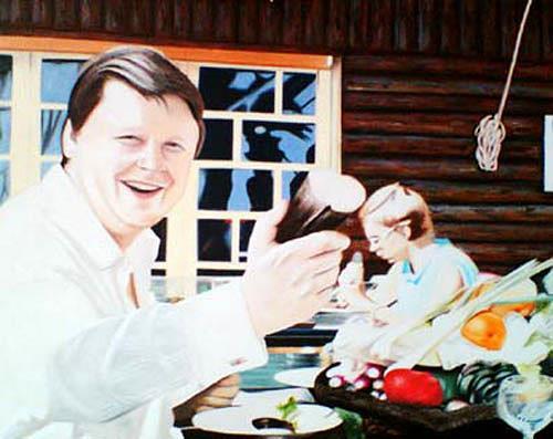 Thomas Kobusch, Take that!, Menschen: Paare, Freizeit, Fotorealismus