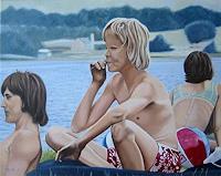 Thomas-Kobusch-Freizeit-Menschen-Gruppe-Moderne-Fotorealismus