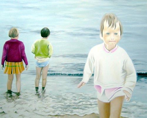 Thomas Kobusch, before the deluge, Menschen: Kinder, Bewegung, Neue Sachlichkeit, Expressionismus
