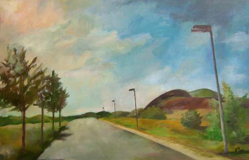 Nicole Mühlethaler, on the road, Diverse Landschaften, Diverses