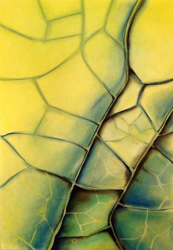 Nicole Mühlethaler, nature, Pflanzen: Palmen, Diverse Pflanzen, Abstrakte Kunst