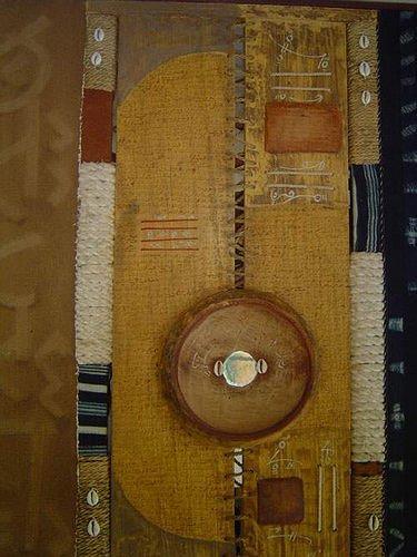 Ute Koité-Herschel, La divination de la calebasse par les peuls, Religion, Abstrakte Kunst, Expressionismus
