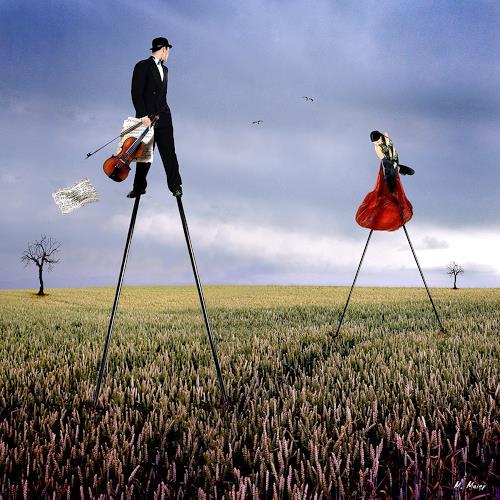 YAPIZO - Michael Maier, The last dance, Fantasie, Gefühle: Liebe, Postsurrealismus, Expressionismus