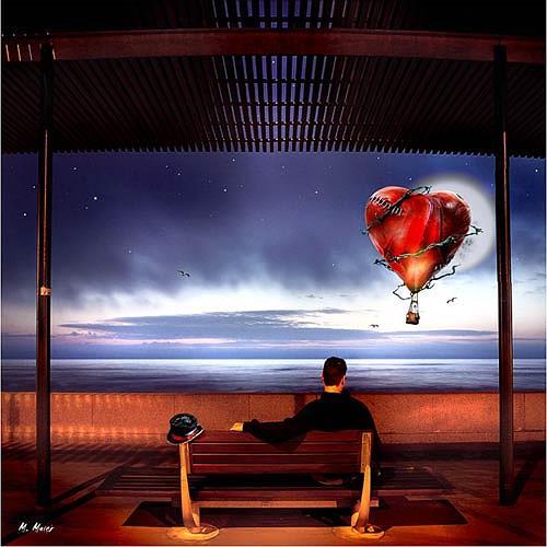 YAPIZO - Michael Maier, The final cut, Fantasie, Gefühle: Liebe, Postsurrealismus, Expressionismus