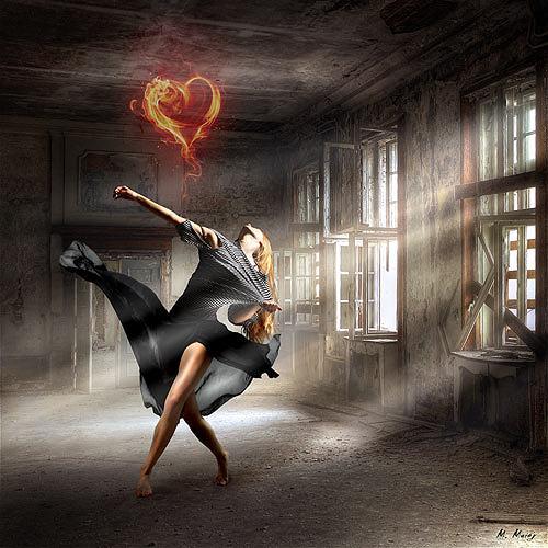 YAPIZO, The dying love, Fantasie, Gefühle: Liebe, Postsurrealismus, Expressionismus