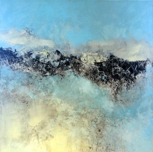 Judith SAUTHIER-Däppen, Landschaft, Landschaft, Abstrakte Kunst