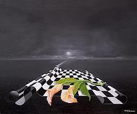 Kenneth-Edward-Swinscoe-1-Diverse-Landschaften-Fantasie-Moderne-Symbolismus