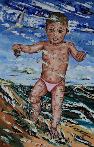 Ulf Göbel, Gefahr, Menschen: Kinder, Gegenwartskunst