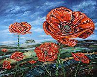 Ulf-Goebel-Pflanzen-Blumen-Diverse-Landschaften-Moderne-Impressionismus-Neo-Impressionismus