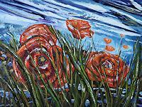 Ulf-Goebel-Diverse-Landschaften-Pflanzen-Blumen-Moderne-Impressionismus-Neo-Impressionismus