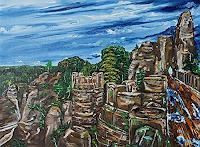 Ulf-Goebel-Landschaft-Berge-Gefuehle-Depression-Moderne-Impressionismus