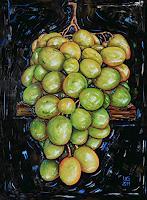 Ulf-Goebel-Pflanzen-Fruechte-Stilleben-Gegenwartskunst--Gegenwartskunst-