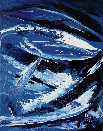 Ulf Göbel, Fishing, Abstraktes, Natur: Wasser, Gegenwartskunst