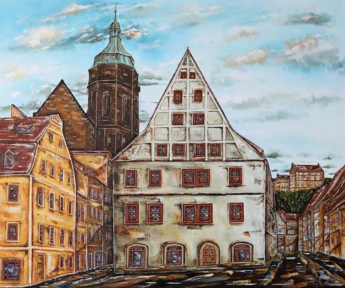 Ulf Göbel, Pirna-Historische Altstadt, Architektur, Diverse Bauten, Gegenwartskunst