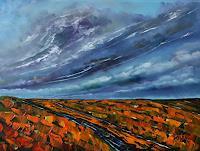 Ulf-Goebel-Landschaft-Huegel-Diverse-Landschaften-Moderne-Impressionismus-Neo-Impressionismus