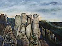 Ulf-Goebel-Landschaft-Berge-Natur-Gestein-Gegenwartskunst-Gegenwartskunst