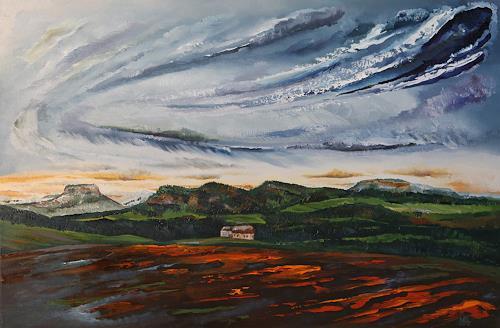 Ulf Göbel, Schein, Diverse Landschaften, Landschaft: Berge, Gegenwartskunst
