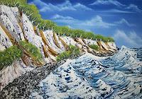 Ulf-Goebel-Landschaft-See-Meer-Natur-Wasser-Gegenwartskunst--Gegenwartskunst-