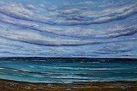 Ulf-Goebel-Landschaft-See-Meer-Natur-Wasser-Moderne-Impressionismus-Neo-Impressionismus