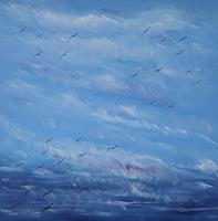 Ulf-Goebel-Landschaft-See-Meer-Tod-Krankheit-Moderne-Impressionismus-Neo-Impressionismus
