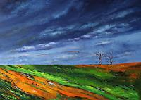 Ulf-Goebel-Diverse-Landschaften-Diverse-Gefuehle-Moderne-Impressionismus-Neo-Impressionismus