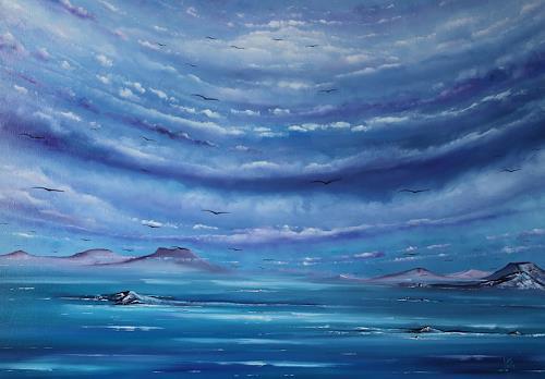 Ulf Göbel, Sehnsucht XVII, Landschaft: See/Meer, Natur: Diverse, Gegenwartskunst