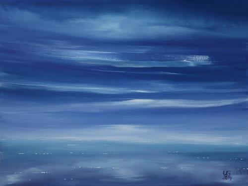 Ulf Göbel, Silence III, Landschaft: See/Meer, Diverse Gefühle, Gegenwartskunst