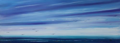 Ulf Göbel, Missing, Landschaft: See/Meer, Diverse Gefühle