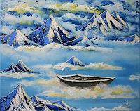 Ulf-Goebel-Landschaft-Berge-Landschaft-See-Meer-Gegenwartskunst-Gegenwartskunst