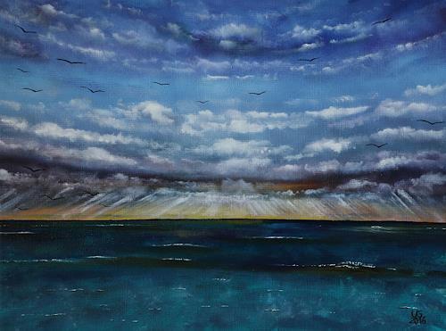 Ulf Göbel, Sehnsucht XXVI, Landschaft: See/Meer, Natur: Wasser, Gegenwartskunst