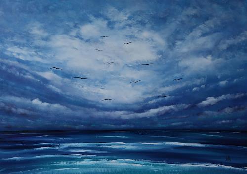 Ulf Göbel, Sehnsucht XIII, Landschaft: See/Meer, Natur: Diverse, Gegenwartskunst