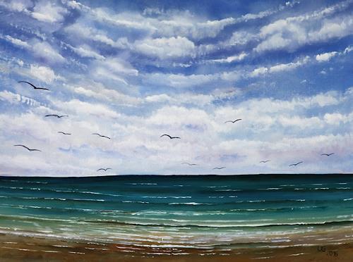 Ulf Göbel, Sehnsucht XXIV, Landschaft: See/Meer, Natur: Wasser, Gegenwartskunst