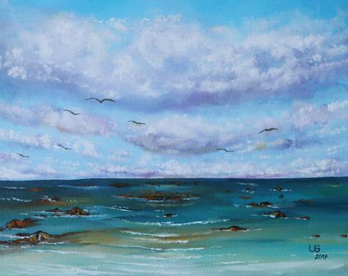 Ulf Göbel, Sehnsucht XXX, Landschaft: See/Meer, Natur: Luft, Gegenwartskunst