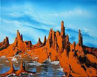 Ulf-Goebel-Landschaft-Berge-Natur-Gestein-Gegenwartskunst--Gegenwartskunst-